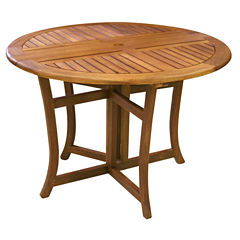 Outdoor Interiors Freeform Patio Dining Table