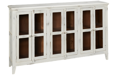 International Furniture Direct Antique 6 Door Console