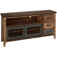 "International Furniture Direct Antique 62"" Media Unit"