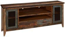 """International Furniture Direct Antique Multicolor 76"""" Media Unit"""