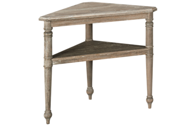 Trade Winds Nicole Triangle Accent Table