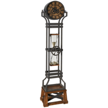 Howard Miller Hourglass Floor Clock
