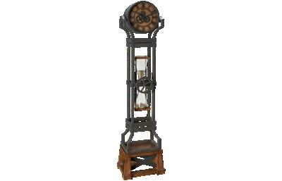 Howard Miller Hourglass Floor Clock