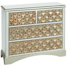 Stein World Savona 4 Drawer Mirrored Chest