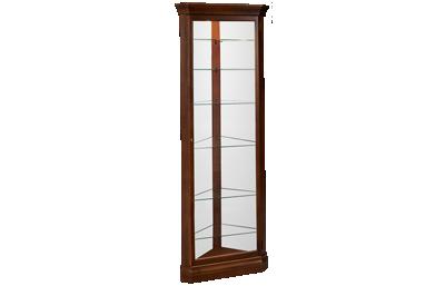 Howard Miller Drake Corner Curio Cabinet