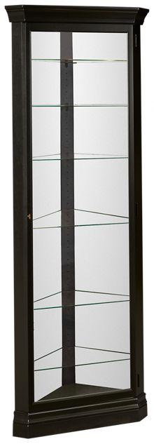 Howard Miller Duane Corner Curio Cabinet