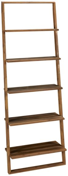Riverside Jeffery Leaning Bookcase
