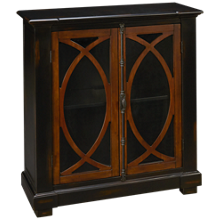 Hekman Circle 2 Door Lattice Entertainment Center