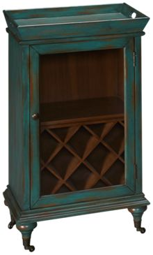 Stein World Paul 1 Door Wine Cabinet