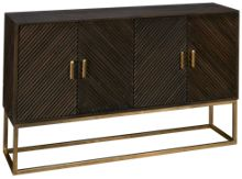 Hekman Chevron 4 Door Cabinet