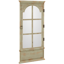 Bassett Mirror Belgium Modern Leaner Mirror - French Door