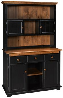 Westmoreland Woodworks Westchester Base and Hutch
