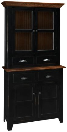 Westmoreland Woodworks Carolina Base and Hutch