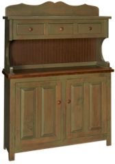 Westmoreland Woodworks Baker County Cabinet with Hutch
