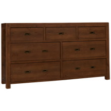 Four Hands Post And Rail 7 Drawer Dresser