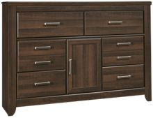 Ashley Juararo 6 Drawer 1 Door Dresser