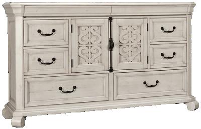 Magnussen Bronywn 8 Drawer 2 Door Dresser