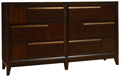 Magnussen Geometry Double Drawer Dresser