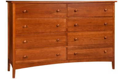 A America  Cherry Garden 8 Drawer Dresser