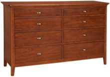 Kincaid   Cherry Park 8 Drawer Dresser