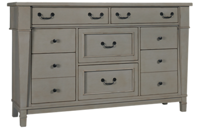 Folio 21 Furniture Stone Harbor 8 Drawer Dresser