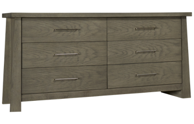 Ligna Furniture Driftwood 6 Drawer Dresser