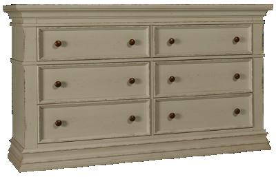 Aspen Granville 6 Drawer Dresser