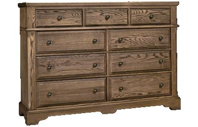 Vaughan-Bassett Heritage 9 Drawer Bureau