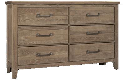 Vaughan-Bassett Passageways 6 Drawer Dresser
