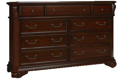 New Classic Home Furnishings Emilie 9 Drawer Dresser