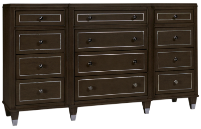 Riverside Dara Two 12 Drawer Dresser