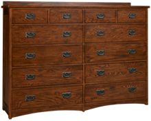 Intercon Oak Park 12 Drawer Dresser