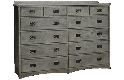 Intercon Oak Park 12 Drawer Dresser