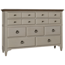 Riverside Myra 9 Drawer Dresser