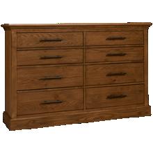 Aspen Manchester 6 Drawer Dresser