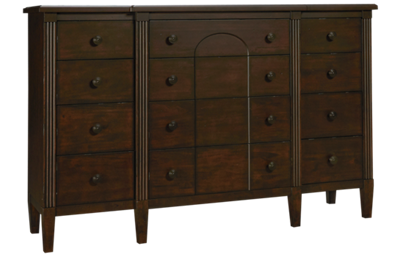 Klaussner Home Furnishings Charleston Lane 12 Drawer Dresser