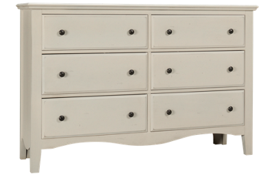 Vaughan-Bassett Casual Retreat 6 Drawer Dresser