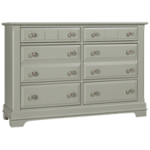 Vaughan-Bassett Cottage 6 Drawer Dresser