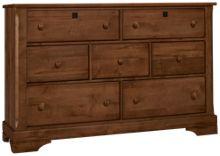 Vaughan-Bassett Scotsman 7 Drawer Dresser