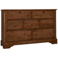 Vaughan-Bassett Scotsman 7 Drawer Dresser