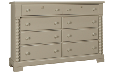 Vaughan-Bassett Scotsman 8 Drawer Bureau