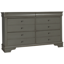 Vaughan-Bassett French Market 6 Drawer Dresser