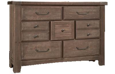 Vaughan-Bassett Sawmill 7 Drawer Dresser