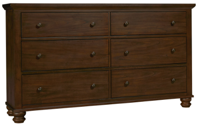 Aspen Hudson Valley 6 Drawer Dresser