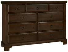 Vaughan-Bassett Whiskey Barrel 9 Drawer Chesser