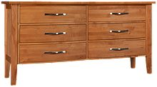 Mastercraft Urban Home 6 Drawer Dresser
