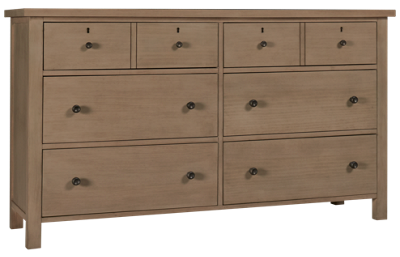 Universal Spaces Dorian 6 Drawer Dresser