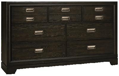Aspen Front Street 7 Drawer Dresser