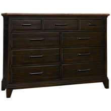 Kincaid Plank Road 9 Drawer Westwood Bureau