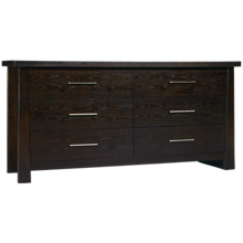 Ligna Furniture Zen 6 Drawer Dresser